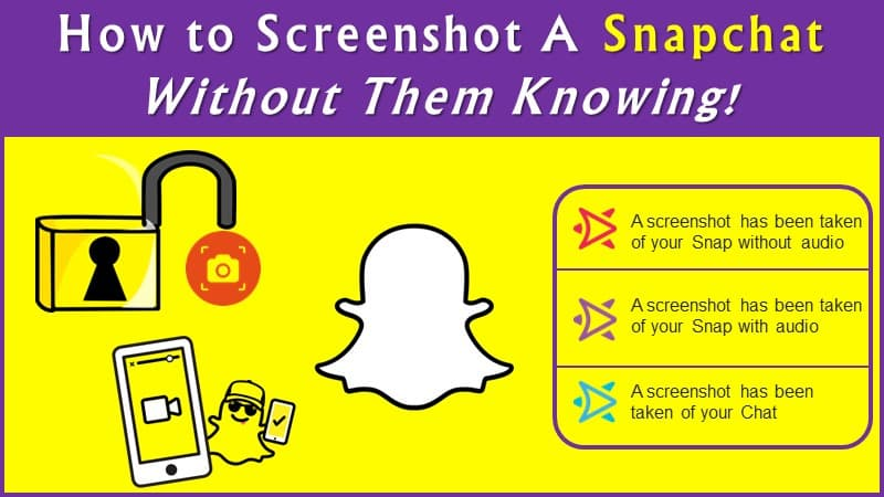 Screenshot on Snapchat Without Them Knowing ios and android