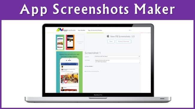 App Screenshots Maker FREE
