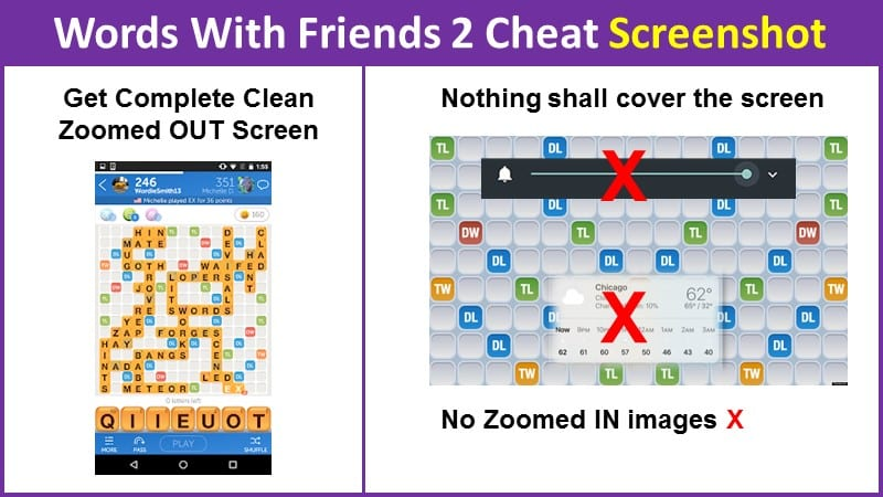 Words With Friends 2 Cheat Screenshot