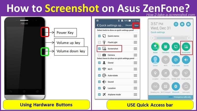 How to Screenshot on Asus ZenFone?