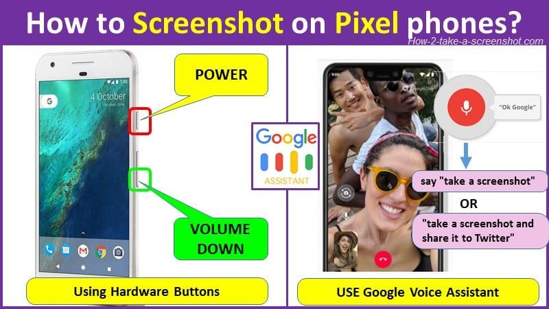 How to Screenshot on Google Pixel phones?